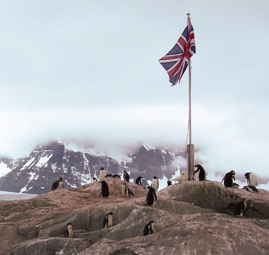 Union Jack - Port Lockroy
